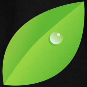 Dew on leaf - Teenage T-shirt