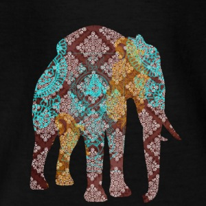 Indiske elefant blå - Teenager-T-shirt