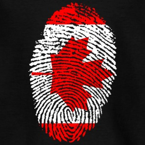 Fingerprint - Kanada - Teenager T-Shirt