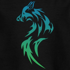 Wolf Tribal - Teenager T-Shirt