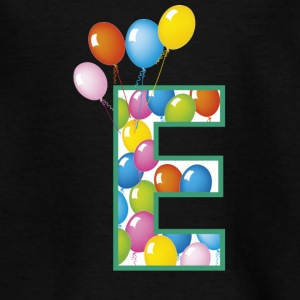 letter E ballonnen - Teenager T-shirt