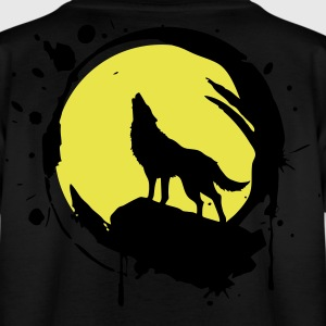 Wolf, Vollmond, Kraft Symbol, Totem, - Teenager T-Shirt