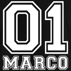 Marco - Navn - Teenager-T-shirt