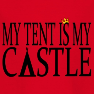 MyTentIsMyCastle - T-shirt Ado