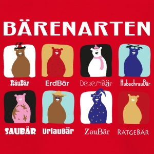Bärenarten - Teenager T-Shirt