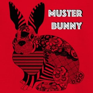 Pattern Bunny - Teenage T-shirt