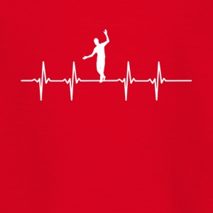 Slackline Heartbeat T Shirt - Teenager-T-shirt