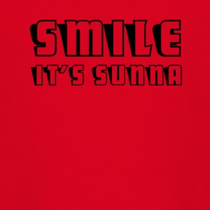 SMILE det er sunna - Teenager-T-shirt