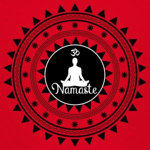 Namaste ornament - Teenage T-shirt