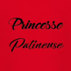 skater prinsesse - Teenager-T-shirt
