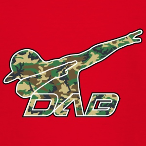 DAB woodland camo - Teenage T-shirt