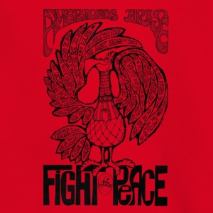 Vintage Grafik Americans Arise Fight for Peace - Teenager T-Shirt