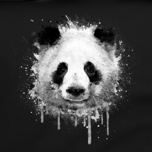 Cooles Kunst Panda Portrait (watercolor design)