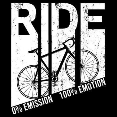 0 Emmission 100 Emotion Cycling funny BirthdayTANK TOP