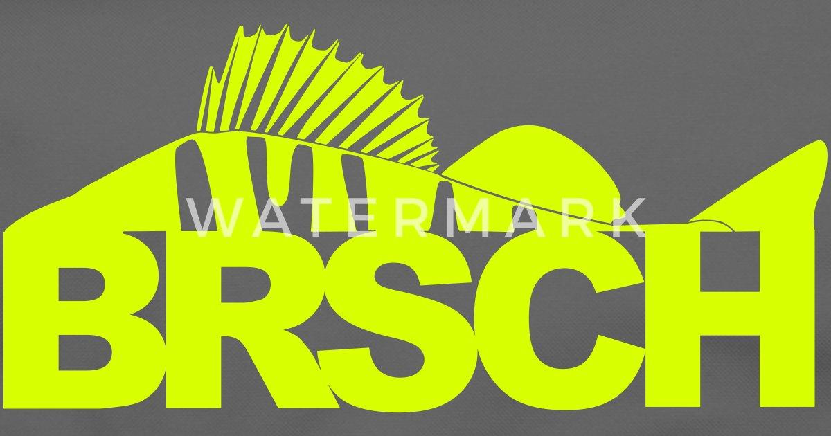 BRSCH für Barschangler Umhängetasche | Spreadshirt