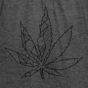 Stylized cannabis leaf - Women's Tank Top by Bella