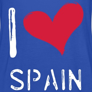 I love Spain - Frauen Tank Top von Bella