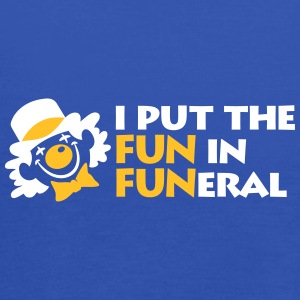 I Put The Fun In Funeral - Women's Tank Top by Bella