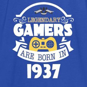 Legendary Gamers Are Born In 1937 - Women's Tank Top by Bella