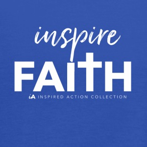 Inspire faith white - Women's Tank Top by Bella
