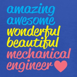 Amazing mechanical engineer - Vrouwen tank top van Bella