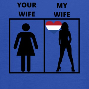 Netherlands gift my your wife - Women's Tank Top by Bella