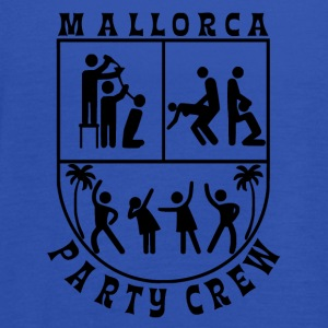 Mallorca Party Crew Logo - Top da donna della marca Bella