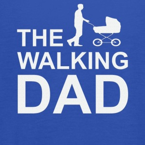 Walking Dad Series Father Son Daughter Christmas - Women's Tank Top by Bella