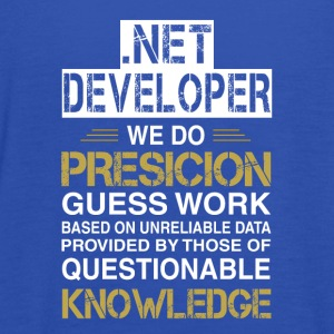 NET DEVELOPER Precision - Vrouwen tank top van Bella