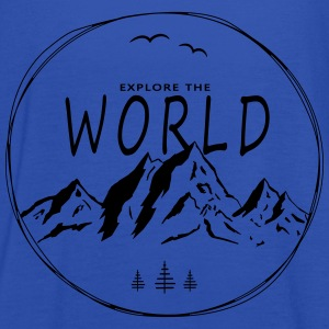 Explore the world - Women's Tank Top by Bella