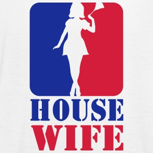 Sexy Housewife Housewife Woman Putzfrau Logo Sport 2 - Women's Tank Top by Bella