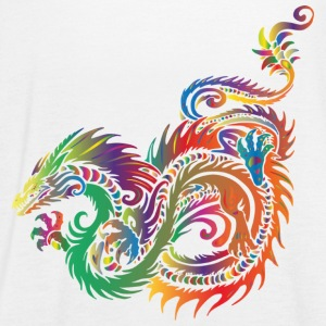 tribal dragon - Vrouwen tank top van Bella