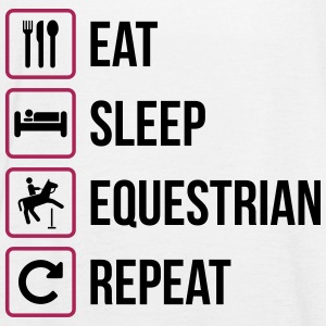 Eat Sleep Equestrian Repeat - Frauen Tank Top von Bella