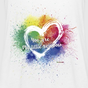 Little Rainbow T-Shirt - Women's Tank Top by Bella