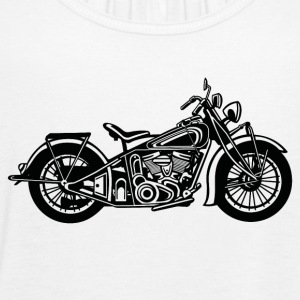 Chopper / Bobber Motorcycle 03_black - Women's Tank Top by Bella