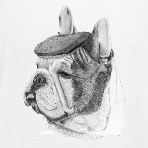 French Bulldog m / rapport - Singlet for kvinner fra Bella