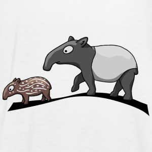 Tapir family cartoon comic animal gift - Women's Tank Top by Bella