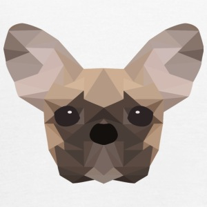 Fransk Bulldog Low Poly - Singlet for kvinner fra Bella