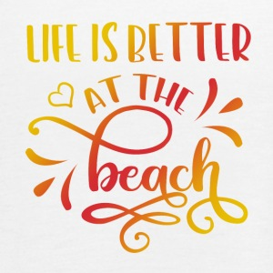 LIFE IS BETTER AT THE BEACH - Women's Tank Top by Bella