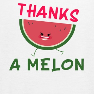 Thanks a ironia koszulka Melon Lato Watermelon Funny - Tank top damski Bella