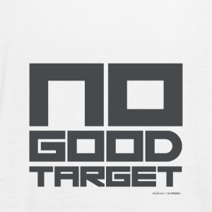 NO GOOD TARGET GRAY - Frauen Tank Top von Bella