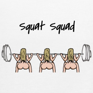 Squat squad - Women's Tank Top by Bella