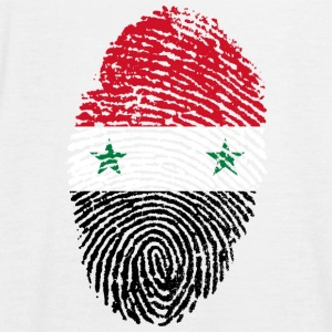 SYRIA SYRIA T-SHIRT FINGERPRINT GIFT - Women's Tank Top by Bella
