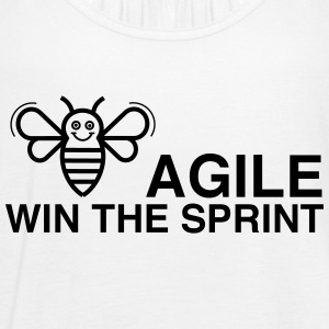 BE AGILE WIN THE SPRINT - Women's Tank Top by Bella