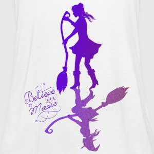 Believe in Magic Witch - purple - Women's Tank Top by Bella