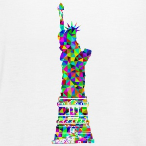 Statue of Liberty Mosaic - Women's Tank Top by Bella