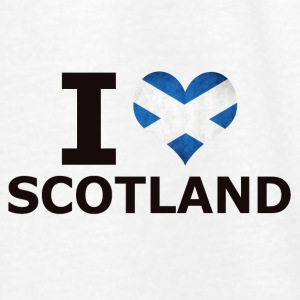 I LOVE SCOTLAND FLAG - Women's Tank Top by Bella