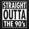Straight Outta The 90's - Cool Birthday Gift - Women's Tank Top by Bella
