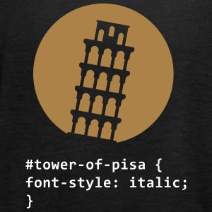 The Tower Of Pisa - Women's Tank Top by Bella
