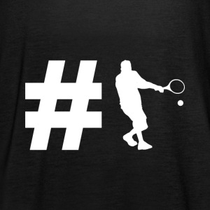 Hashtag Tennis - Tennis Players - regalo - Top da donna della marca Bella